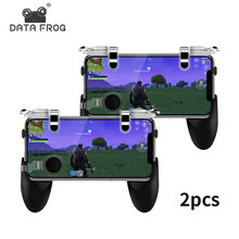 DATA FROG Game Controller For PUBG Mobile Trigger Aim Button L1R1 For Iphone Xiaomi Huawei Gamepad Joysticks Shooter For PUBG(China)