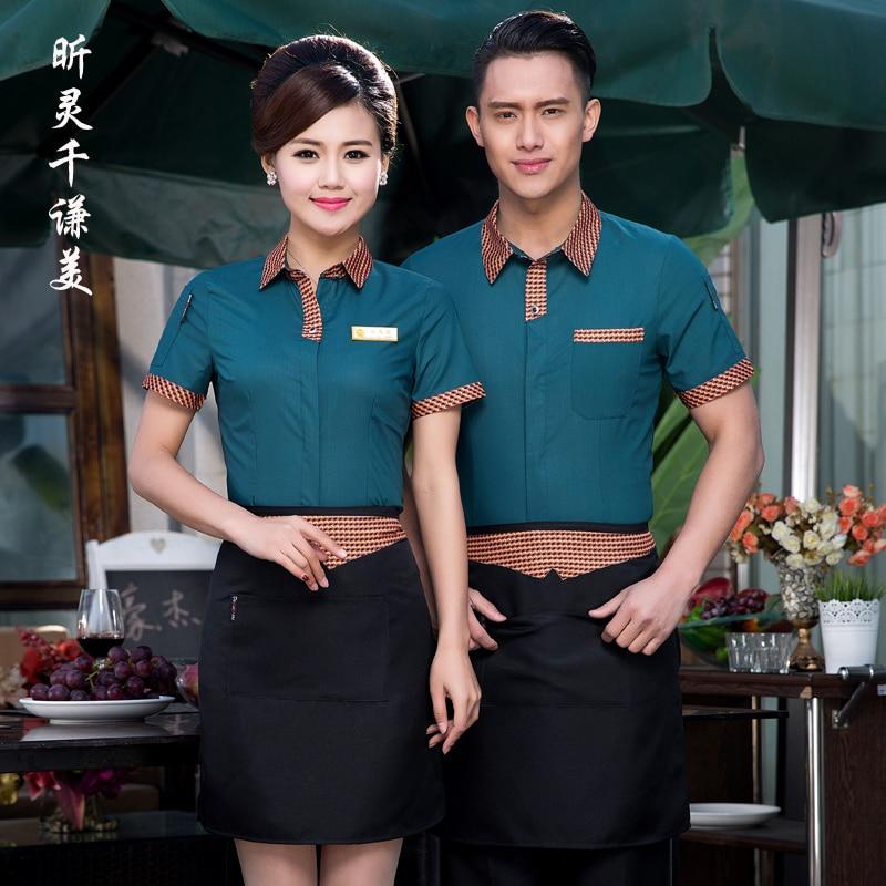 hotel uniform summer waitress uniforms restaurant cafe