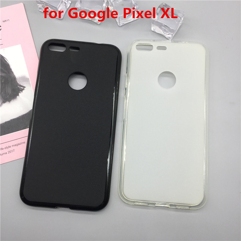 Case Soft Silicon Phone Para For Google Pixel XL Luxury TPU Fundas Protector Full Cover Shell Black Cases Coque