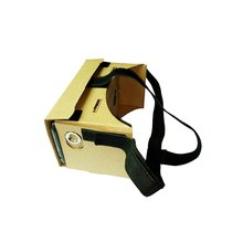 CES-Portable 3D Glasses V2.0 3D VR Virtual Reality Video Glasses Detachable head strap belt
