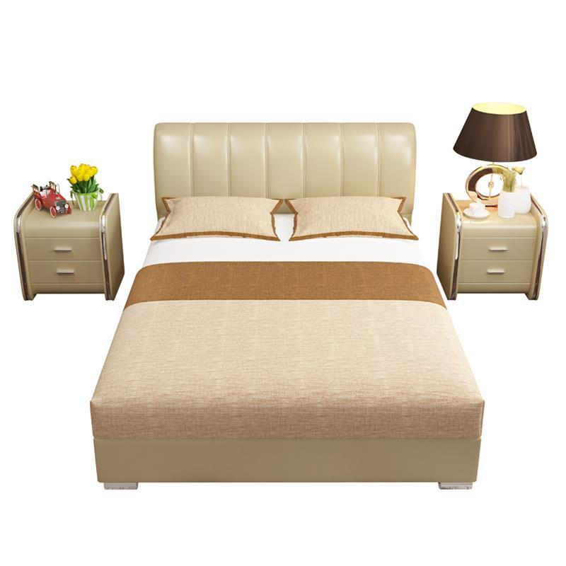 Mobili Lit Enfant Recamaras Meble Bett Room Quarto Home Kids Leather Moderna Mueble De Dormitorio Cama bedroom Furniture Bed