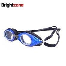 Gafas de natación graduadas para hombre y mujer, lentes para adultos, miopía, Astigmatism, montura óptica, 4 colores