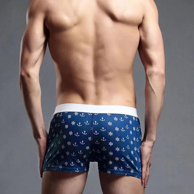 ZYFPGS Arrow Mens Shorts Loose Knitwear Shorts Mens Elastic Waistcompression Sea Short Man Quick Drying Solid printed L0628