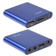 Мини медиаплеер 1080P HDMI SD/USB HD медиаплеер MKV/RM/RMVB