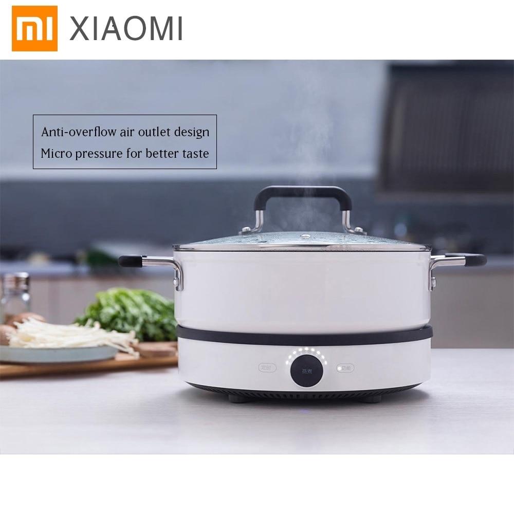 Original Xiaomi Mijia Induction Cooker Mi Home Smart Creative Precise Control Induction Cooker With Mijia Pot App Remote Control все цены