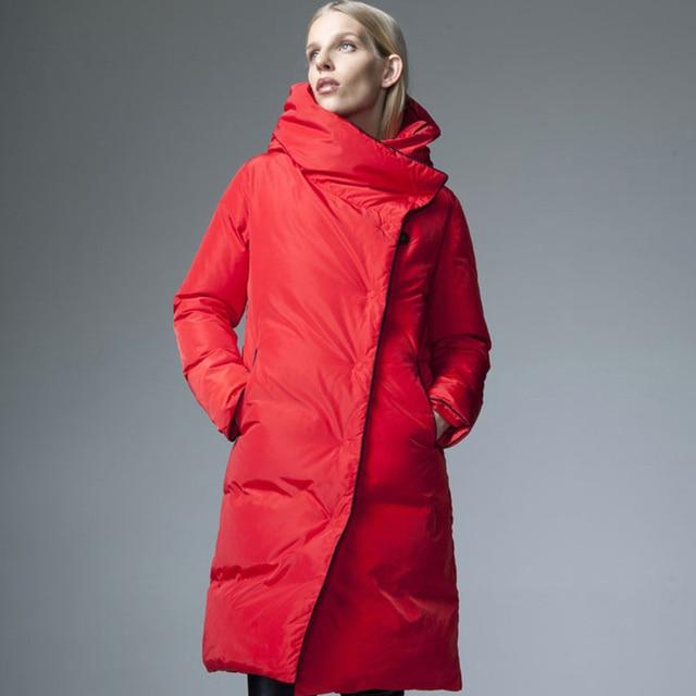 Ladies Long Coats Designs | Women Down Jacket Winter Fashion Cloak Coat Designers 2017 Womens