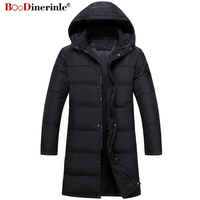 Winter Men's Down Jacket Plus Size 4XL Thickening Warm White Duck Down Coat Male Jacket Man Smart Casual Parkas Outwear YR141