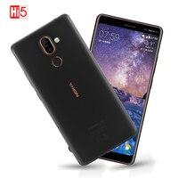 Nokia 7 Plus 2018 Android 8.0 ROM 64G Snapdragon 660 octa core 6.0 ''wyświetlacz 3800mAh Bluetooth 5.0 telefon komórkowy oprogramowanie sprzętowe na cały świat w Telefony Komórkowe od Telefony komórkowe i telekomunikacja na