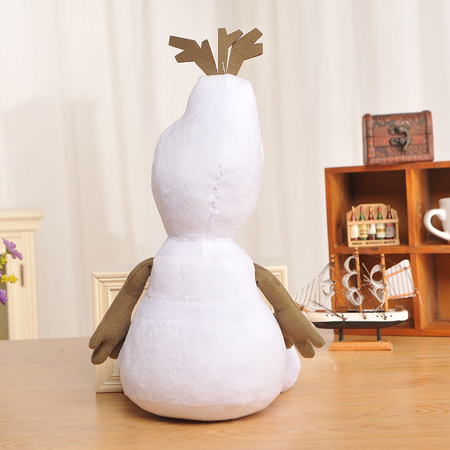 Disney Stuffed Animals Plush Toys Frozen 20cm 30cm 50cm Olaf Plush Kawaii Snowman Cartoon Plush Toys Doll Brinquedos Juguetes