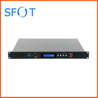 4 ports EYDFA, 1U high power EDFA, 16/17/22dBm, with or without WDM
