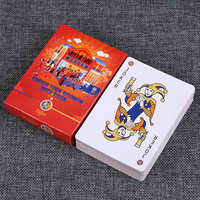 Hot Sale Durable Waterproof Poker Plastic Playing Cards Poker Set Funny Board Game Baralho Toy For