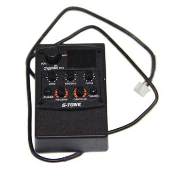 Cherub EQ Preamp System GT-preamplificador de guitarra acústica, GT-5 EQ de 3...