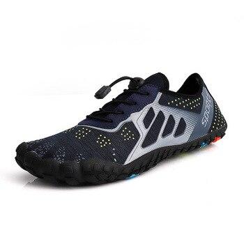 81d957f476b Verano Zapatos de agua zapatos de las mujeres de los hombres sandalias de  playa arriba Aqua Zapatos Hombre rápido río seco mar zapatillas surf buceo  ...