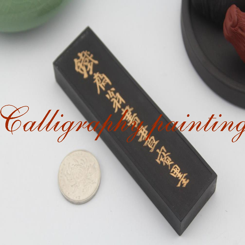 62g Oil Soot Hukaiwen Ink Stick Inkstick Calligraphy Painting Sumi-e Tool 62g fine pure pine soot inkstick hukaiwen brush ink calligraphy painting sumi e