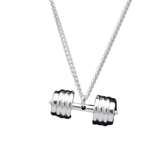 Dumbbell Design Pendant