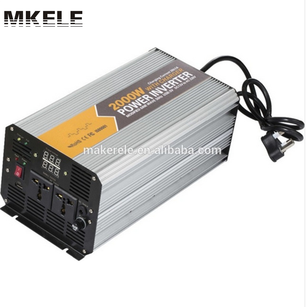 MKM2000-241G-C 2000watt power inverter for home application 2kva inverter dc to ac 24v 120v mini inverter with charger 10x 5w watt 2r2 2 2 ohm 5