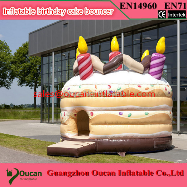 4m diameter inflatable bitthday cake bouncer, inflatable bouncy castle for children, inflatable bounce house giant inflatable games commercial bounce houses 4 4m 3 3m 2 6m bouncy castle inflatable water slides for sale toys