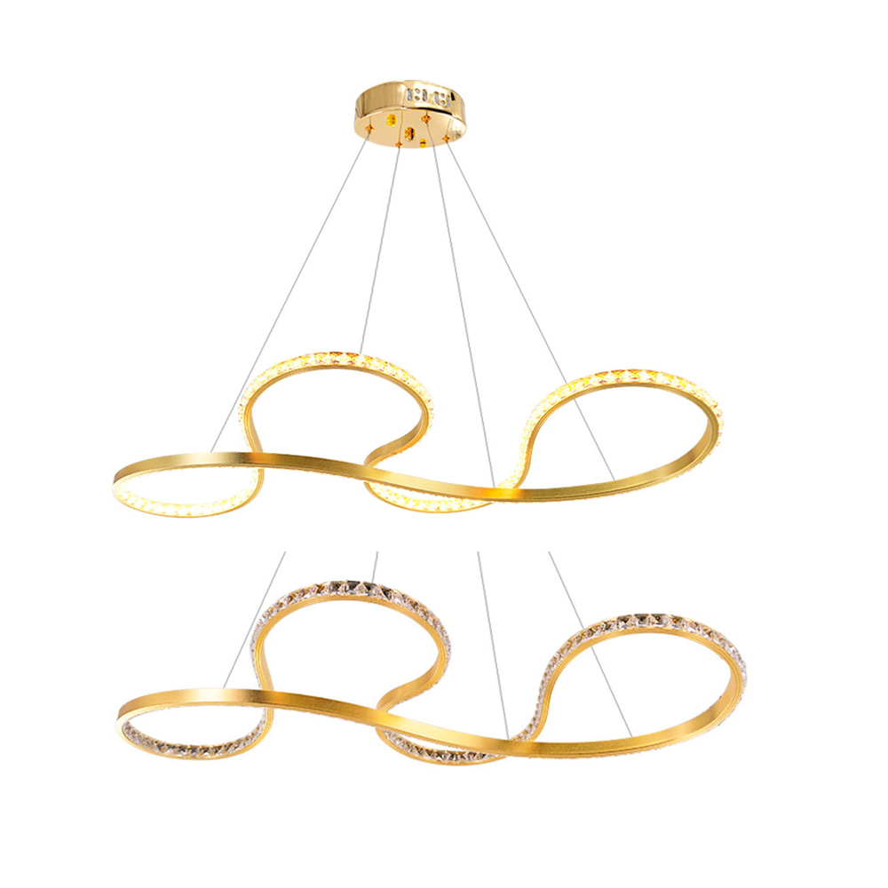 Gold Led Modern Chandelier Lighting for Dining Room Living Room Suspension luminaire Hanging Foyer Bedroom Chandeliers Fixtures 220v ac digital speed governor speed control unit motor speed regulator 6w to 200w for selection