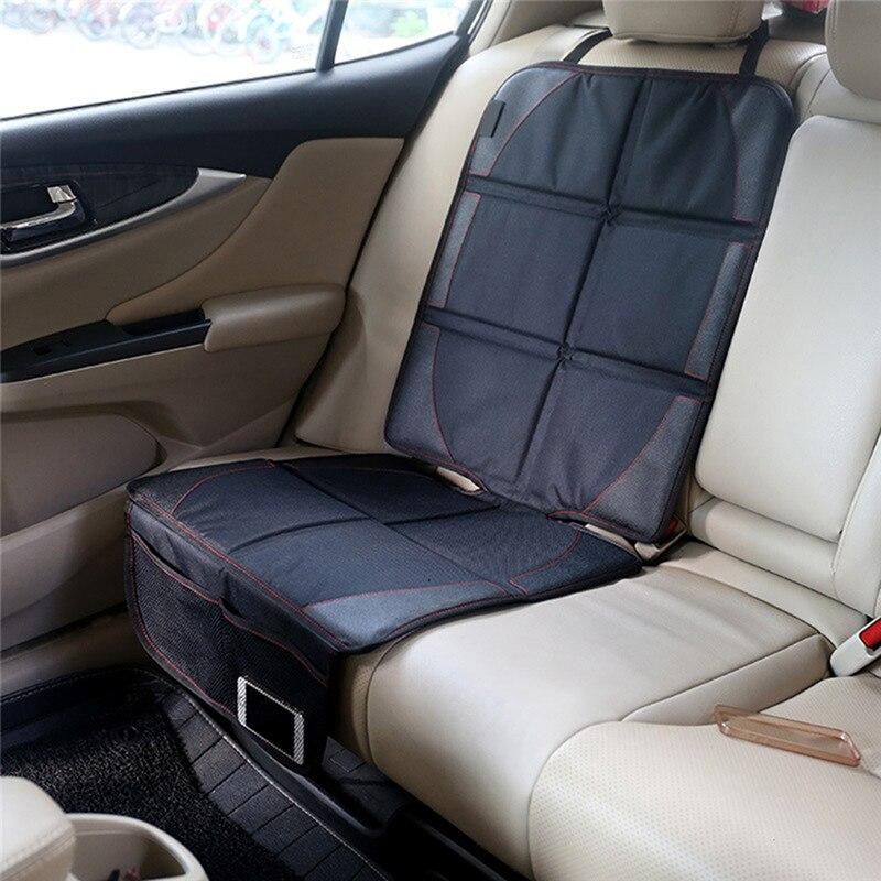 Universal Black font b Car b font Seat Protector Mat font b Car b font Seat