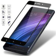 For Xiaomi Redmi 4X Protective Glass Full Cover HD Premium Tempered Glass Film for xiaomi mix max2 note 5 4 X Pro Screen glass(China)