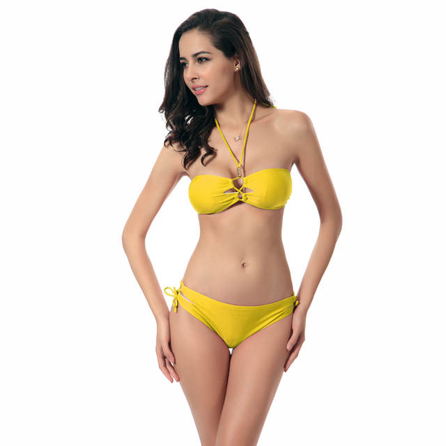 012351d0cd Two piece sexy swimwear fabric wholesale push up neoprene XL pictures of  transparent bikinis thong swimsuit