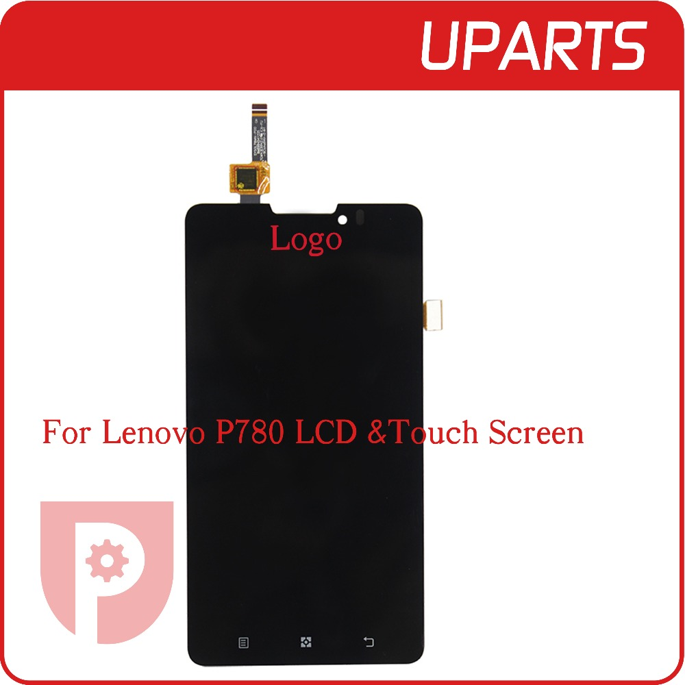 High Quality For Lenovo P780 LCD Display Assembly Complete Touch Screen Digitizer Sensor 5 0 inch