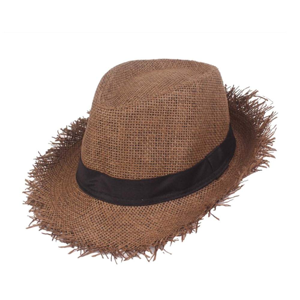 Fashion Straw Hat Men Panama Caps Summer Style Sun Hat Beach Holiday Classic Male Hats And Caps