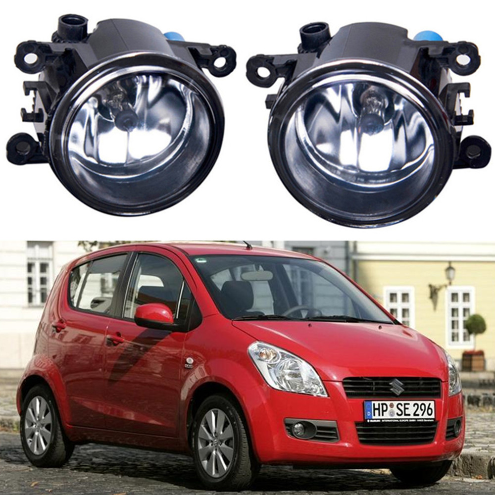 For SUZUKI SPLASH Hatchback  2008-2015 Car styling Fog lights halogen lamps 1set стоимость