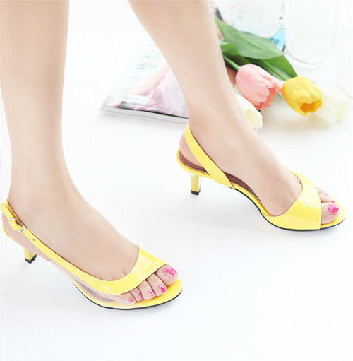 Meotina Shoes Women Sandals Summer Ladies Sandals Transparent Neon ...