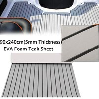 35 4 X94 4 Self Adhesive EVA 5mm Foam Teak Sheet Boat Yacht Synthetic Decking