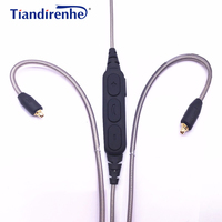 High Qulity Headphones Bluetooth Wireless Earphone With Microphone For Mobile Phone PC Cable For SE215 SE315