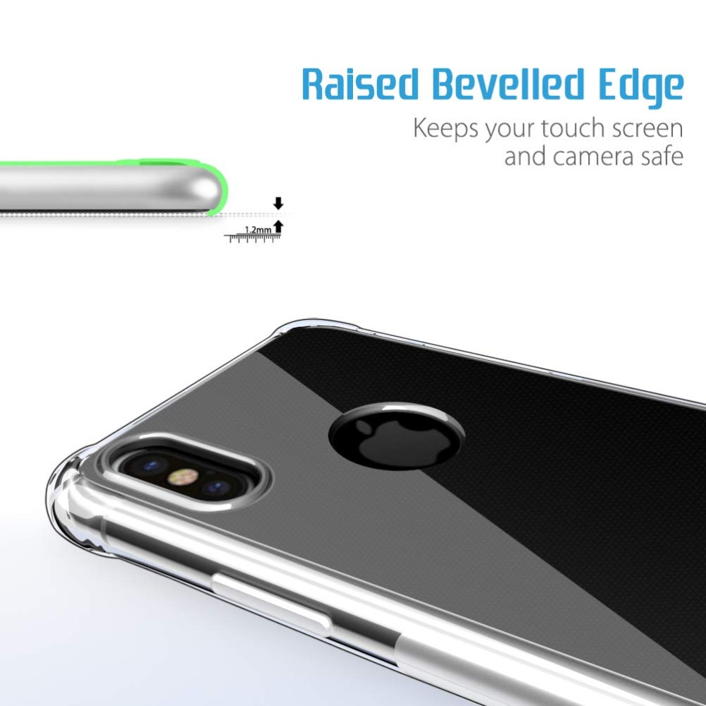Ultra thin Clear Transparent TPU Silicone Case For iPhone X XS MAX XR 6 7 6S Plus Protect Rubber Phone Case sFor iPhone 8 7 Plus (2)