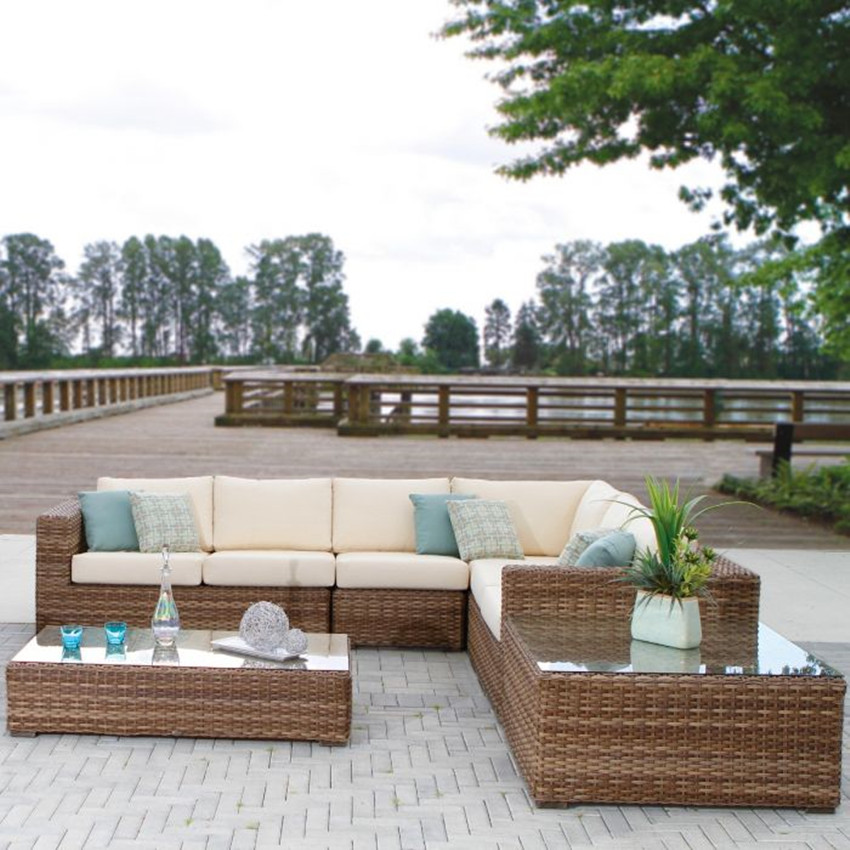 Patio Rattan Sofa Furniture Sets