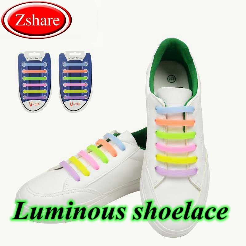 12 Pcs Luminous Shoelaces