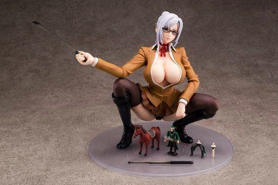 17cm Prison School Meiko Shiraki Soft Mount 1/6 Figure & Kanu Set sexy toy model 3
