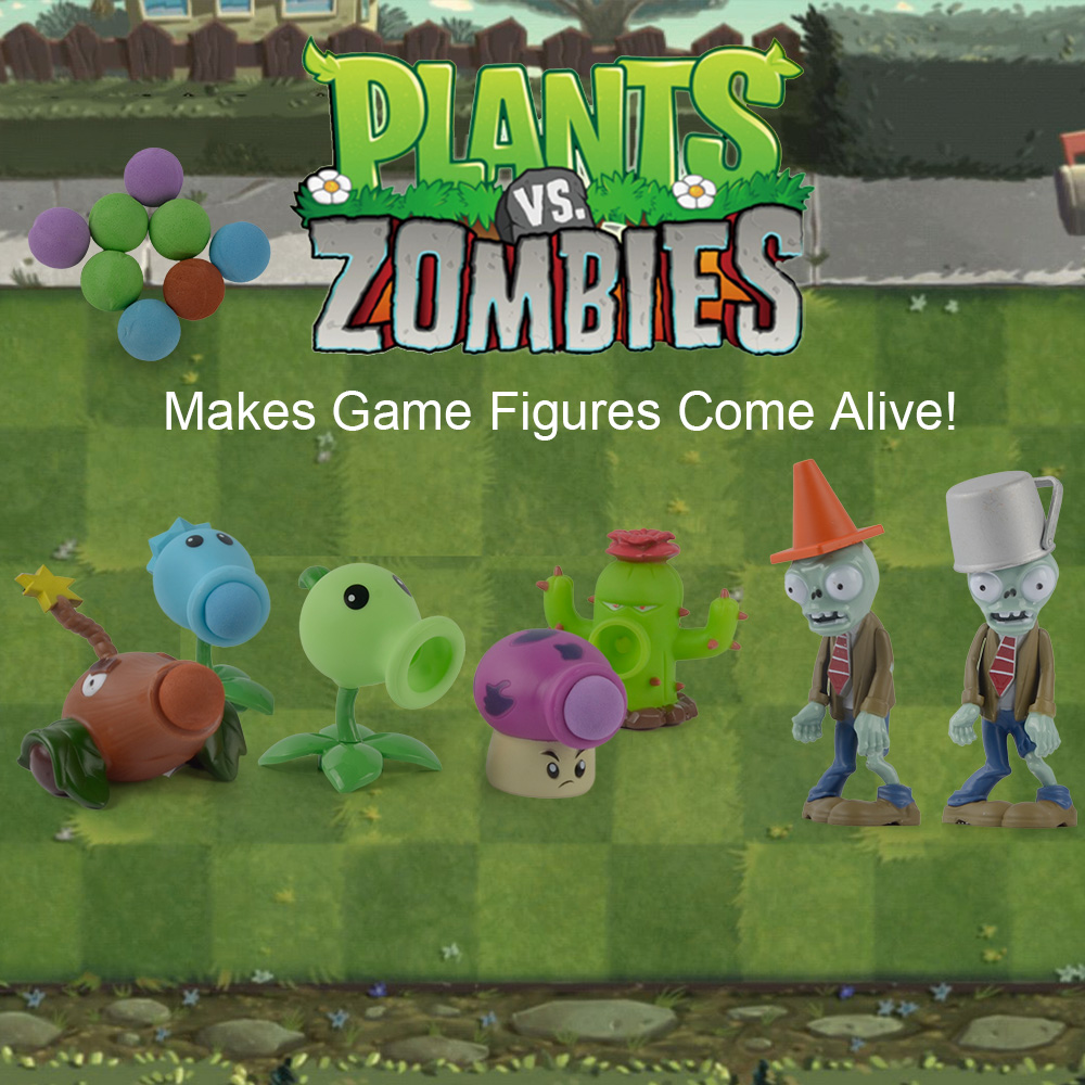 ALI shop ...  ... 32858573374 ... 3 ...  Plants VS Zombies PVC Action Figure Set Collectible Mini Figure Model Toy Gifts Toys For Children High Quality Brinquedos ...