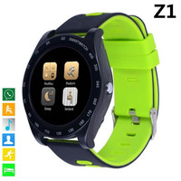 Z1 Smart Watch Bluetooth Smartwatch Touch Screen Wrist Watch with Camera SIM TF Card Slot Waterproof Smart Watch DZ09 V9 Y1 GT08