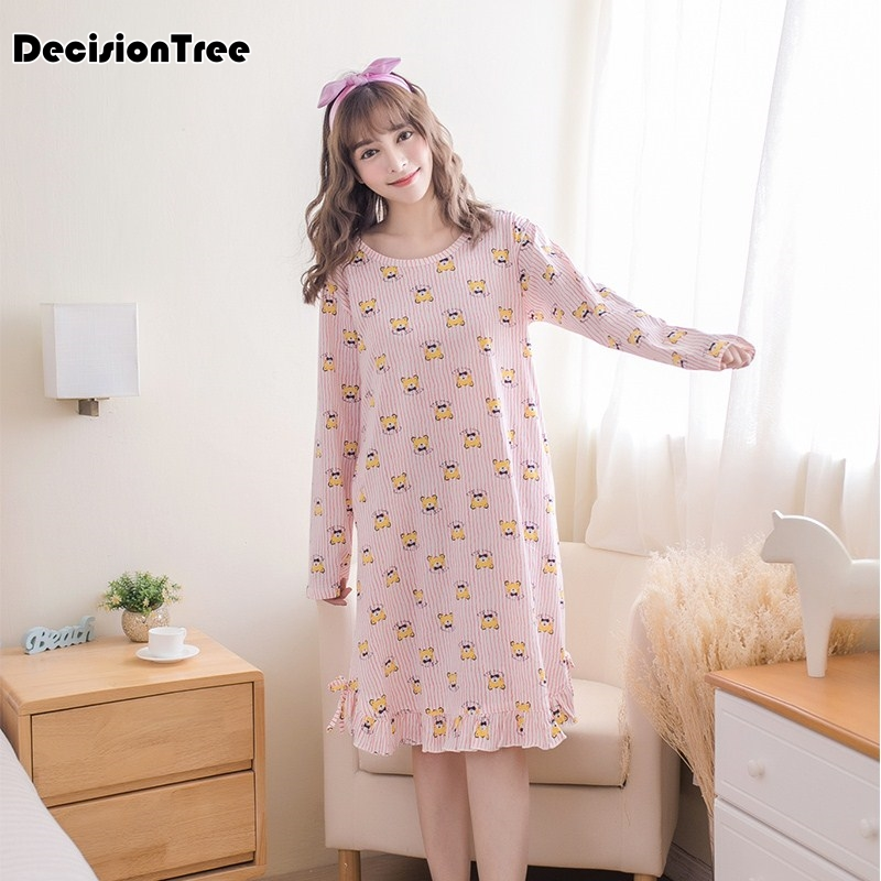 2019 new   nightgowns     sleepshirts   sexy dresses princes lace sleepwear home dress solid sleep & lounge nightdress   nightgown