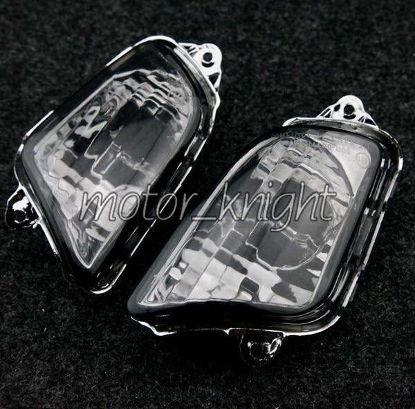 Front Turn Signals Blinker Indicator Lens For Honda 1997-2006 CBR1100XX 97-06 Lamp Cover
