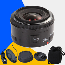 For Canon 6d 60d 5d mark iii 550d 1100d 650 YONGNUO YN35mm YONGNUO 35mm F/2 Lens Wide-angle Large Aperture Fixed Auto Focus Lens