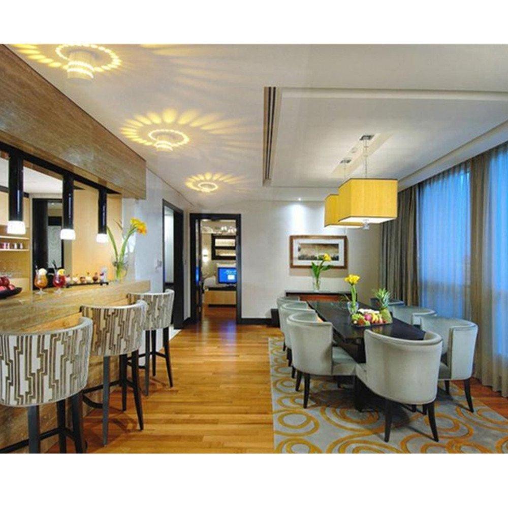3W Led Spiral Wall light Modern Wall Light Spiral light LED Wall effect Lamps For KTV/Bar/ Decoration /Living Room DA