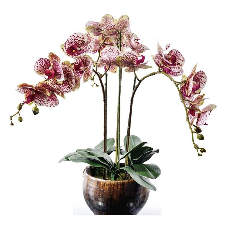 Διακόσμηση λουλουδιών Μωβ ορχιδέες - Προϊόντα για τις διακοπές και τα κόμματα - Φωτογραφία 1
