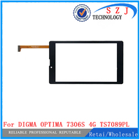 New 7'' inch Touch Screen For DIGMA OPTIMA 7306S 4G TS7089PL Tablet Touch Panel digitizer glass Sensor Free Shipping 10pcs