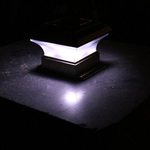 conves caminho pos coluna luzes lampada led