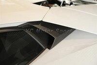 Автомобильные Аксессуары Сухой Углеродного Волокна OEM Стиль Воздуховод 2 шт. подходит Для 2011 2014 Aventador LP700 Боковое Окно Воздуха Воздуховод пот