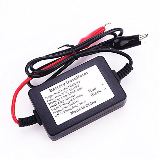 400Ah Auto Pulse Lead Acid Golf Cart Battery Desulfator Desulphator 12 24 36 48 Volt Batteries