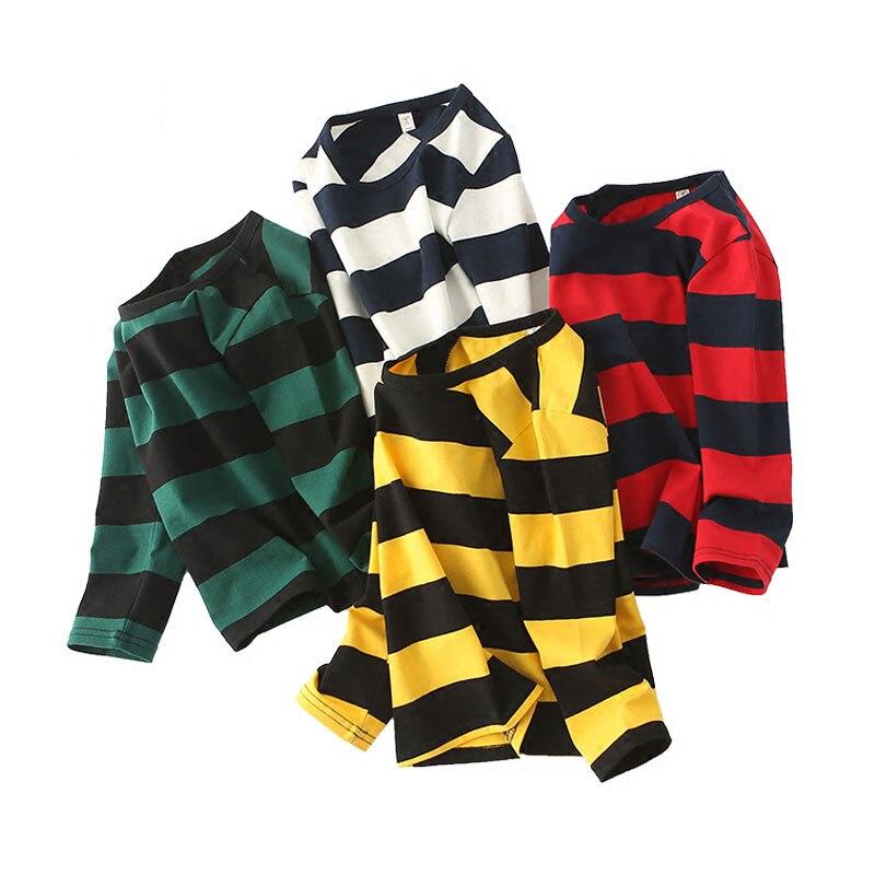 V-TREE Children T-shirt Spring Autumn Shirts For Girls Cotton Boys Tops Baby Sweatshirt Boy Clothes Brand Clothing