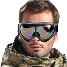 WOLFBIKE Gafas De Nieve Motocicleta A Prueba de Viento UV400 de Motos De Nieve Ski Goggles Gafas Envío de La Gota