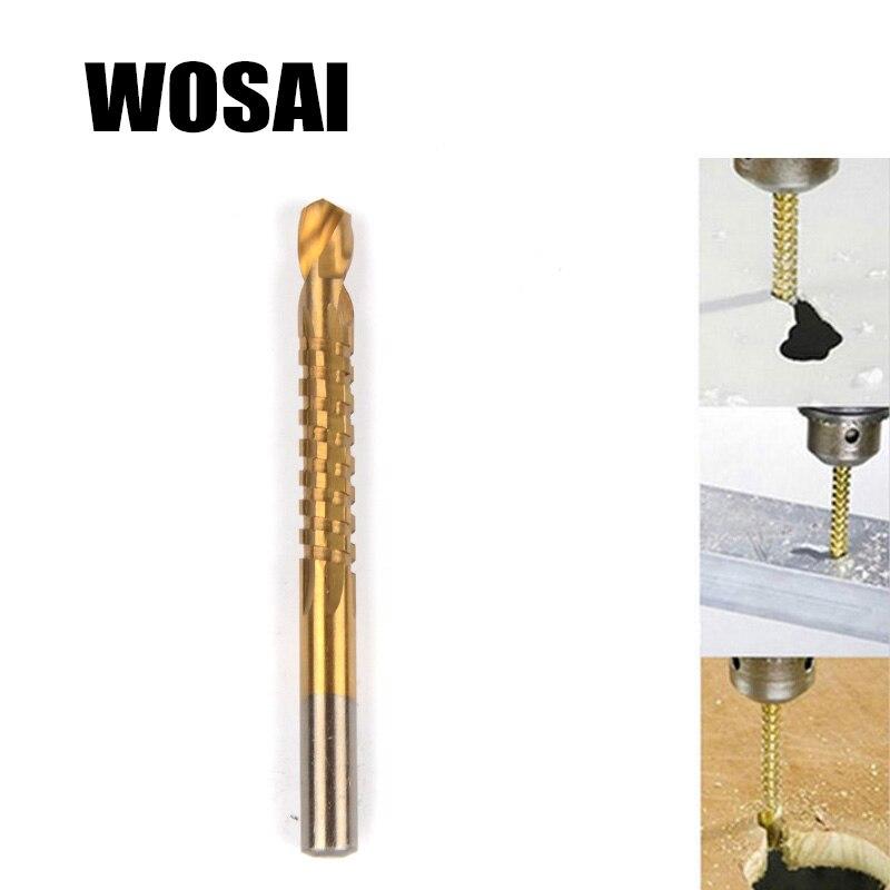 WOSAI 6 vnt. Elektrinių gręžtuvų ir pjūklų rinkinys HSS plieno - Grąžtas - Nuotrauka 2