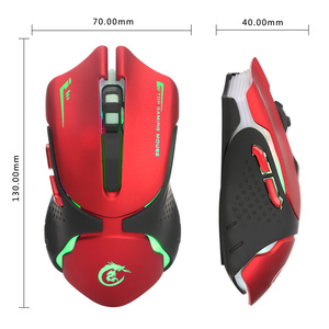 Image 5 - HXSJ 6 מפתחות Wired משחקי עכבר A903 3200DPI צבעוני LED נשימה אור USB Wired משחקים אופטיים עכבר